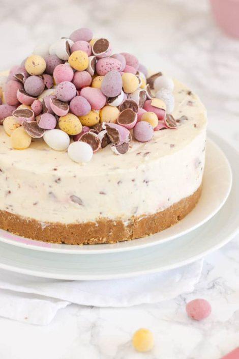 mini egg cheesecake recipe