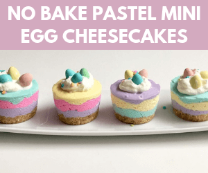 Pastel Mini Egg Cheesecakes: Easter Dessert Recipe