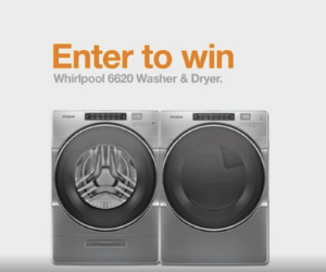 Win A Free Washer & Dryer from The Home Depot
