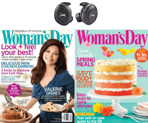 Free Woman's Day Magazine + Win Earphones