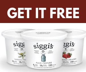Free Siggi's Yogurt Coupon