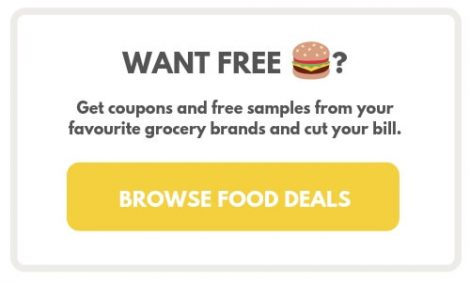 get fast food coupons at Free.ca for Canadians to save money
