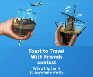 Win A Free Trip from Air Transat