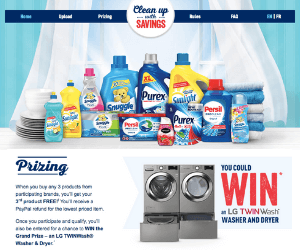 Spring Cleaning Free Product Rebates & Contest