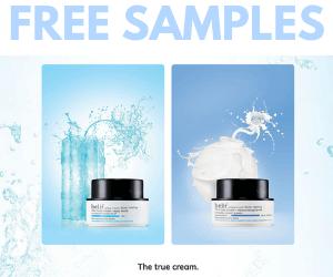 Free Belif Skincare Samples