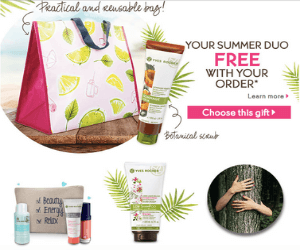 Yves Rocher Gifts With Purchase