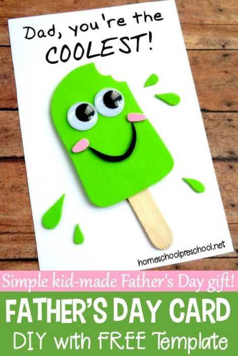 DIY Happy Father's Day Cards #1