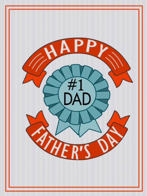 Happy Father's Day Cards #1