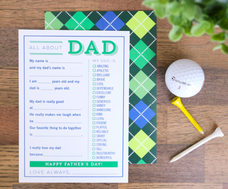 DIY father's day gift #2