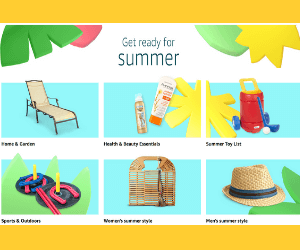 40% Off Summer Essentials at Amazon