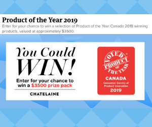 Win a Free $3,500 Chatelaine Prize Pack