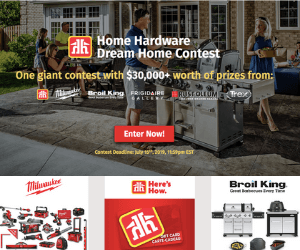 Win a $30,000 Home Hardware Prize Pack
