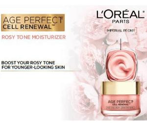 Free L'Oreal Rosy Tone Moisturizer Sample