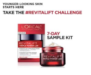 Free 7-Day Sample of L'Oreal Revitalift LZR