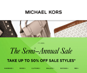 50% Off at Michael Kors