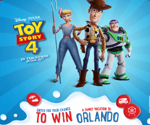 Win a Free Trip to Orlando