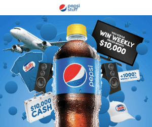 Drink Pepsi Get Epic Stuff Contest