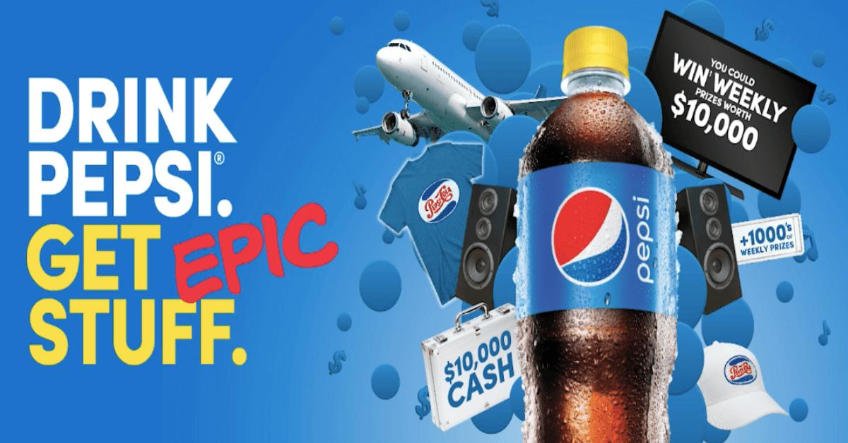 Drink Pepsi Get Epic Stuff Contest
