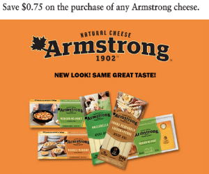 $0.75 Off Armstrong Cheese Coupon