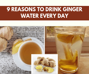 9 Reasons To Drink Ginger Water Every Day