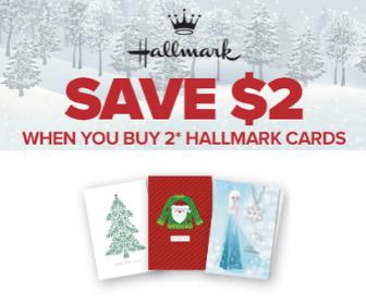 $2 Off Hallmark Coupon