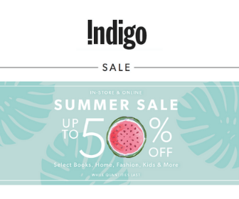 Indigo Sale: 50% Off