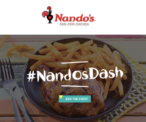 Free Meal at Nando's