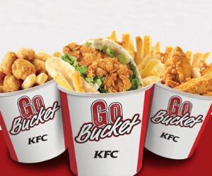 KFC Meal Deals: $3.49 Bucket