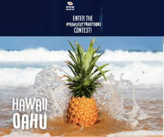 Win A Trip for 4 to Hawaii