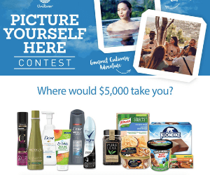 Win $5,000 Cash & Get Coupon from Unilever