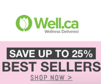 25% at Well.ca