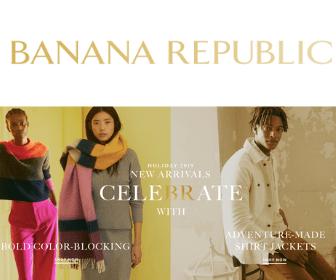 50% Off at Banana Republic!