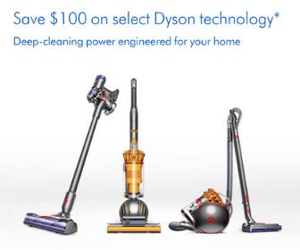 $100 Off Dyson