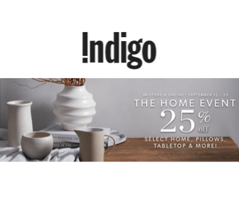 Indigo Sale: 25% Off