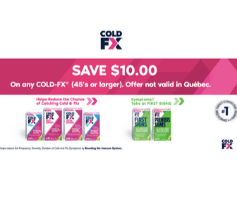 $10 Off Cold-FX Coupon