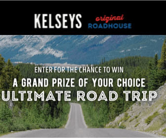 Win a Road Trip From Kelsey's