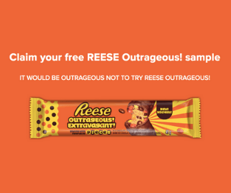 Free Reese's Outrageous Bars