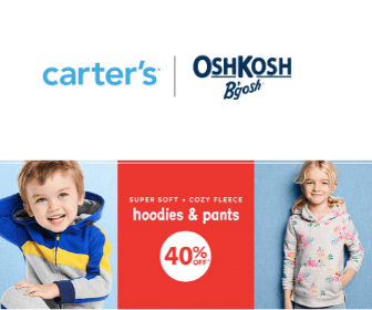 40% Off at Carter's OshKosh