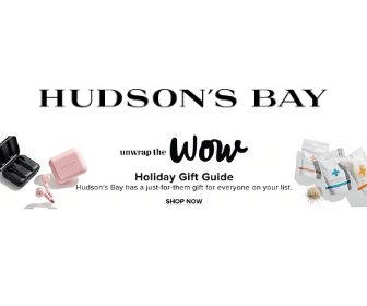 $20 Off at Hudson's Bay