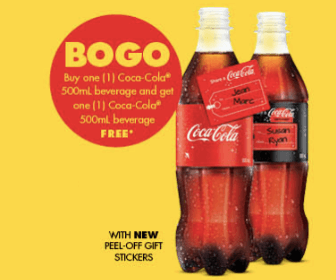BOGO Coca-Cola Coupons