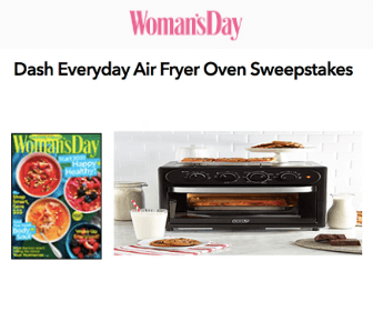 Free Woman's Day Magazine + Win Air Fryer Oven