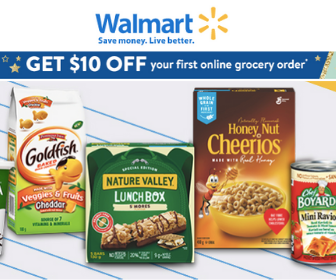 $10 Off Groceries At Walmart