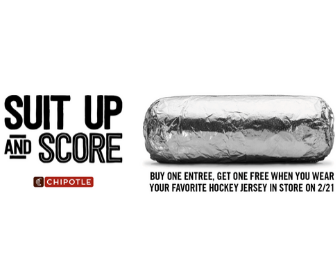 Chipotle: Buy one Get One Free