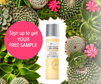 IT Cosmetics Lotion Free Sample