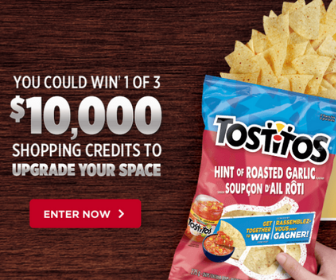 Win $10,000 to upgrade Your Space