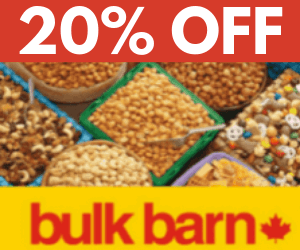 20% Off at Bulk Barn