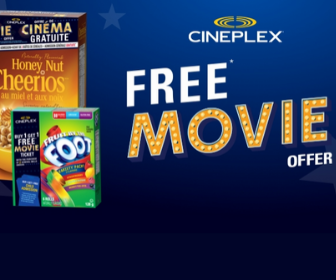 Cineplex Free Movie Offer