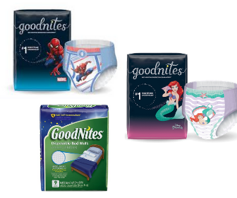 Goodnites Products Coupons