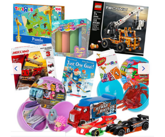 Toys R US: Stay at Home Play Packs up to 60% Off