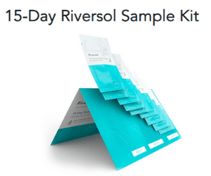 Free 15-Day Skincare Sample Kit from Riversol